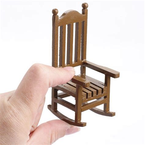 miniature woodworking miniature wood rocking chair what s new dollhouse
