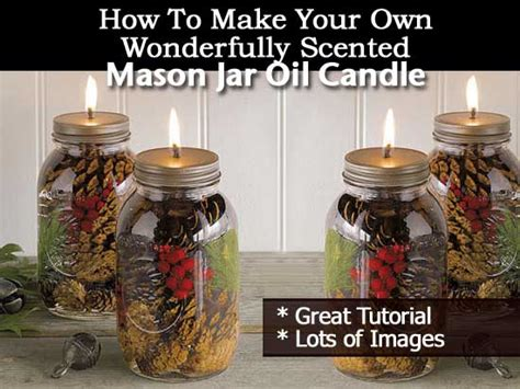how to make scented make your own wonderfully scented jar candle