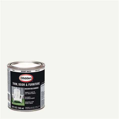 home depot paint quart wall paint trim glidden trim and door paint 1 qt