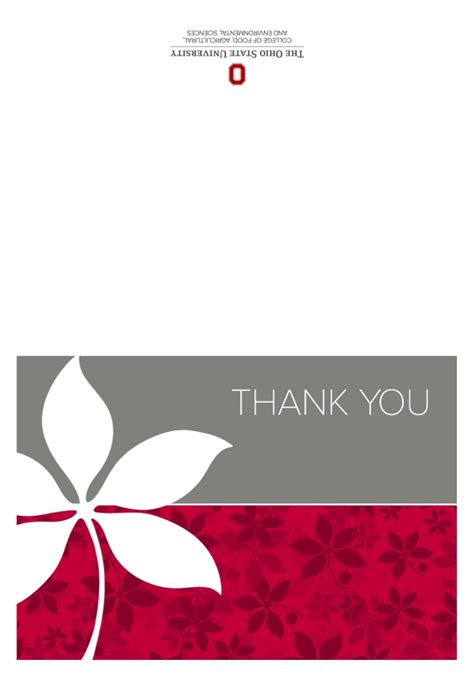make your own thank you cards for free thank you card sles image templates for thank you