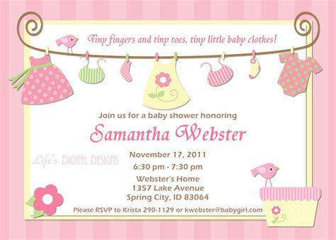 how to make invitations baby shower invitations cloveranddot