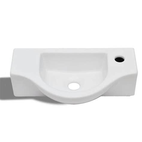 Vasque Robinet by Acheter Vasque 224 Trou Pour Robinet C 233 Ramique Blanc Pour