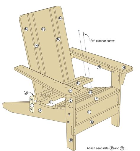 Folding Adirondack Chair Plans folding adirondack chair plans woodwork city free