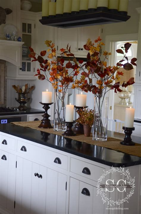 decorating kitchen island all about the details kitchen home tour stonegable