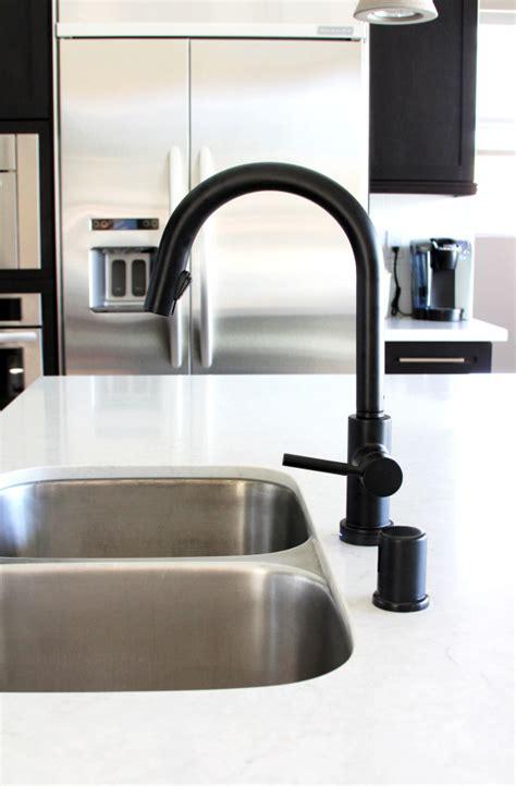 kitchen faucets black black is the new black design milk