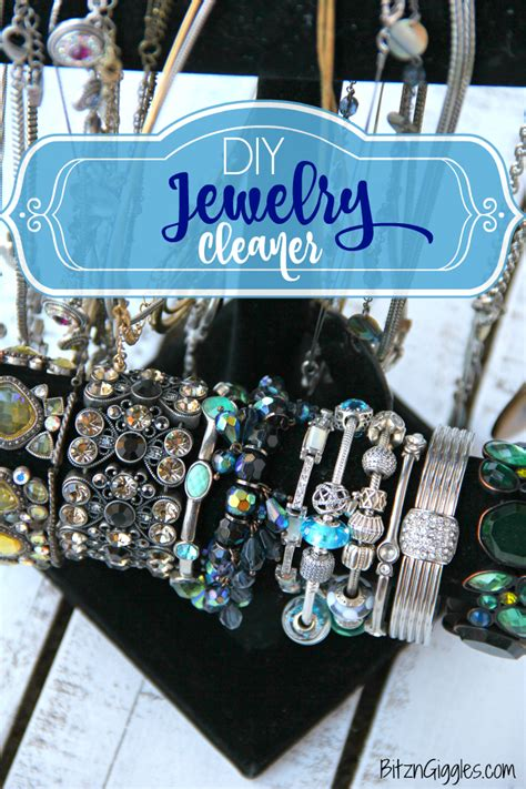 make jewelry cleaner diy jewelry cleaner bitz giggles