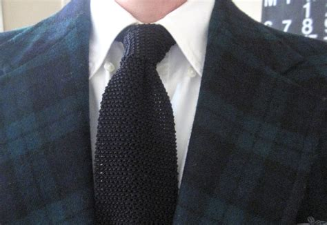 how to wear a silk knit tie an affordable wardrobe quot heritage quot vs heritage