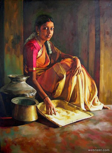 indian painting pics 25 beautiful rural indian paintings by tamilnadu