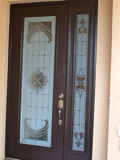 etched glass doors etched glass for home business boat