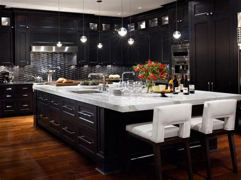 kitchen black cabinets black kitchen cabinets with any type of decor
