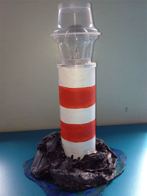 lighthouse craft project make these using pringles incorporate circuits for