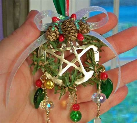 pagan craft projects winter solstice yule yule ornament