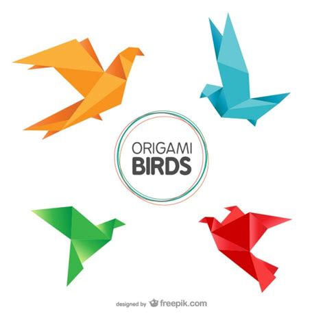 origami birds origami vectors photos and psd files free