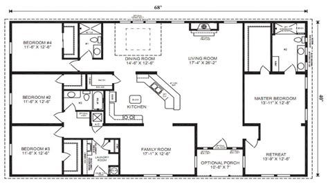 small manufactured homes floor plans mobile modular home floor plans manufactured homes