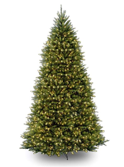 12ft pre lit dunhill fir artificial tree
