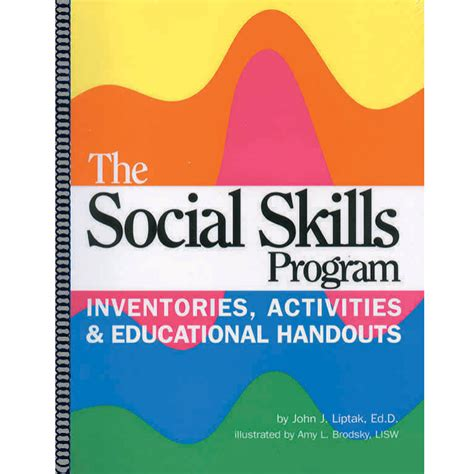 the social skills picture book the bureau for at risk youth format activity books