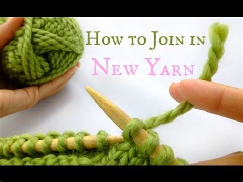 how to change yarn in knitting 17 best ideas about knitting on