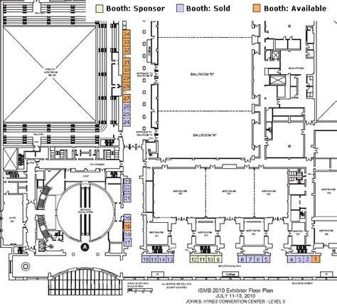 hynes convention center floor plan planners hynes