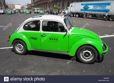 Volkswagen In Mexico by Volkswagen Beetle Taxi Mexico City Mexico Stock Photo