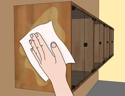 cleaning wood kitchen cabinets 3 ways to clean wood kitchen cabinets wikihow