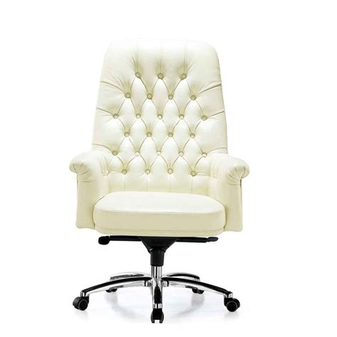 white chair for desk white leather desk chairs choose the best