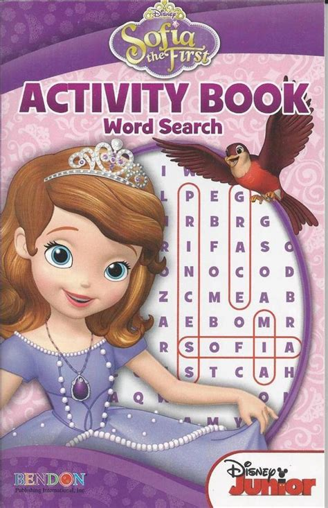 seek and find books pictures bendon puzzle book sofia the disney word search