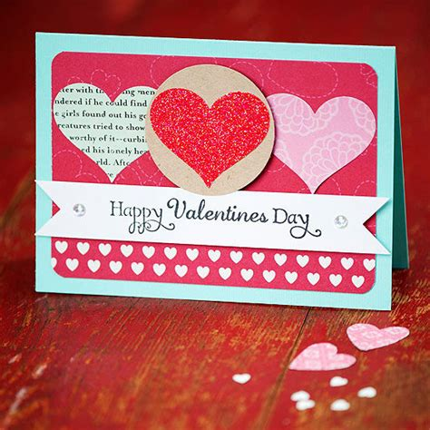 easy to make valentines cards simple valentines day card with hearts pictures photos