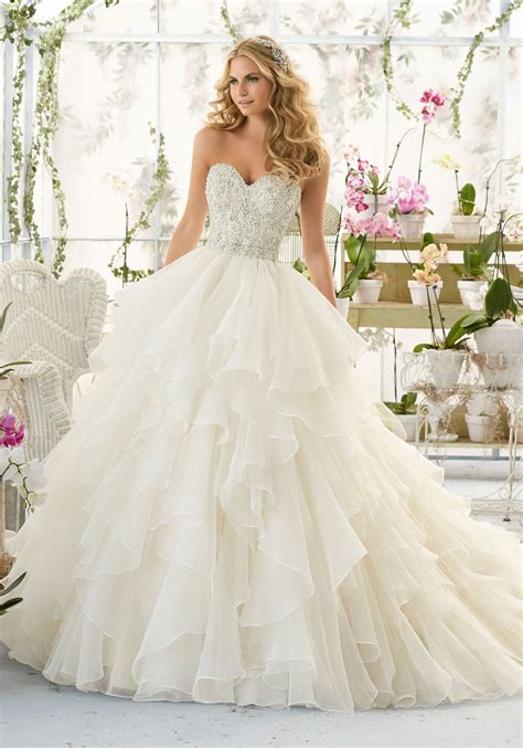 beaded bodice tulle skirt wedding dress wedding dress with bodice on organza style 2815
