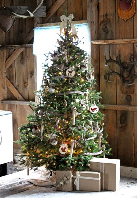 rustic decorated trees yourself a rustic fynes designs