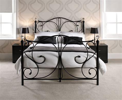 black metal bed frame king empoli black metal bed frame