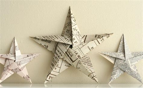 origami five point folding 5 pointed origami ornaments
