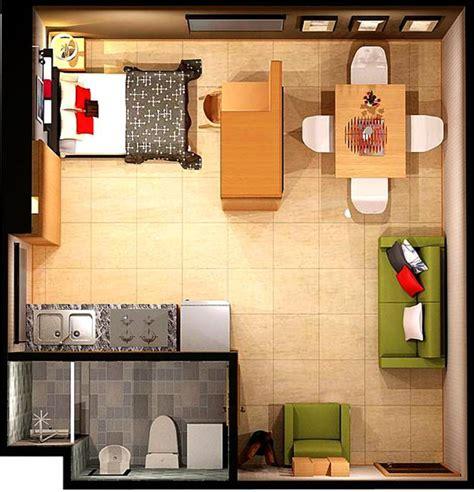 studio apartment plan 15 smart studio apartment floor plans