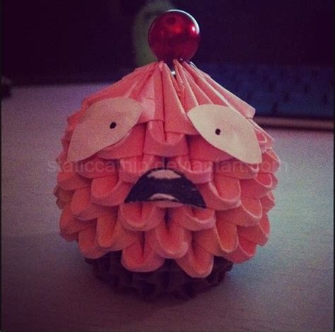 origami legend 3d origami lulu cupcake league of legends by inyeon on