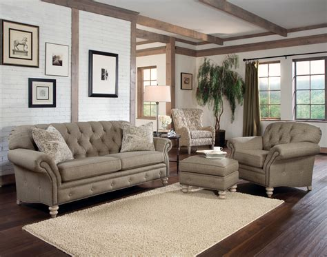 tufted living room furniture rustic modern living room with light brown tufted sofa