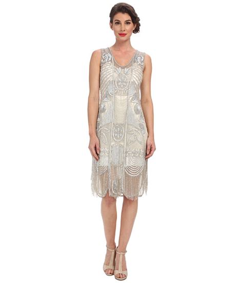 beaded flapper dress search unique vintage the bosley beaded fringed flapper