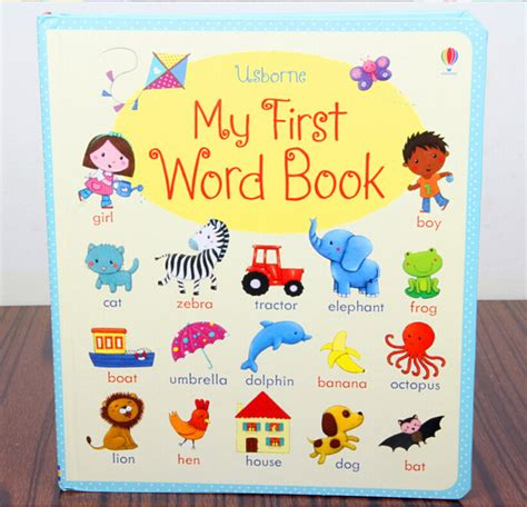 picture board book picture book usborne board book my word