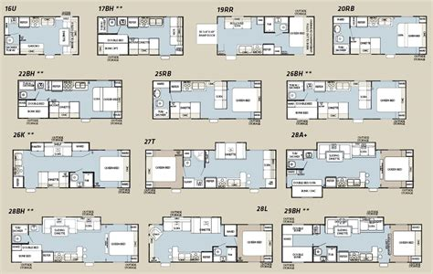 forest river travel trailers floor plans forest river grey wolf floorplans