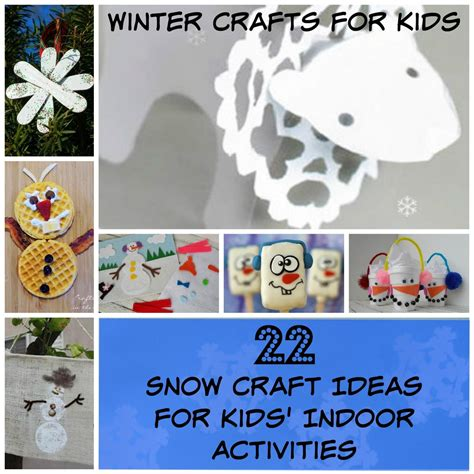 winter craft ideas for winter crafts for 22 snow craft ideas for