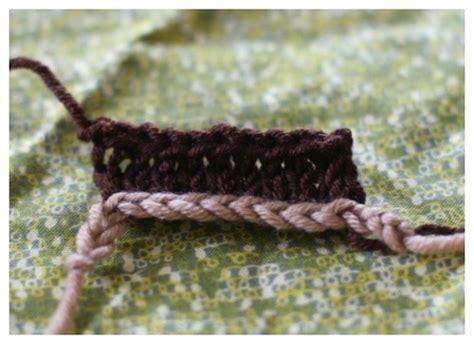 knitting provisional cast on provisonal crochet cast on