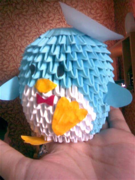 3d origami penguin 3d origami penguin 2 by shinigamito on deviantart