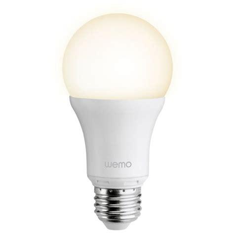 single led light bulb belkin wemo led single light bulb iwoot