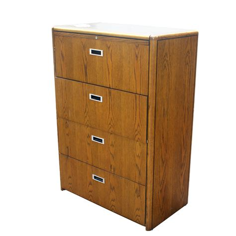 4 drawer filing cabinet vintage four drawer wood file cabinet ebay
