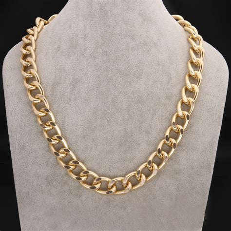 big for jewelry 15mm new gift fashion big chunky statement chokers