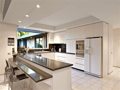 open plan kitchen design modern open plan kitchen design using granite kitchen