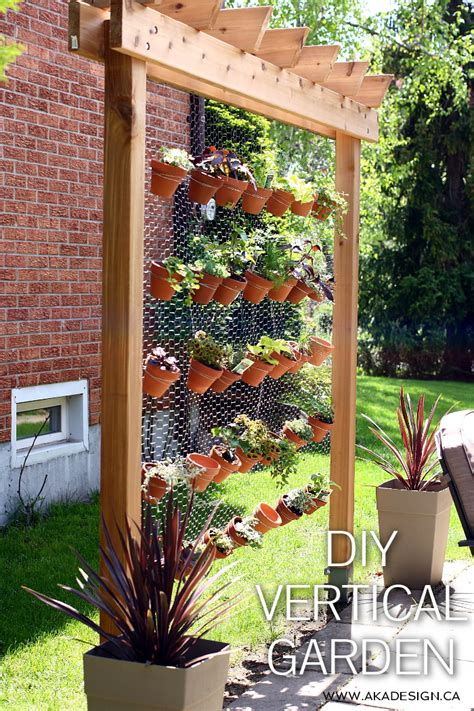 garden on wall diy vertical garden wall the whoot