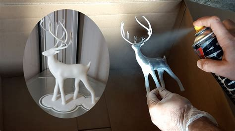 spray paint deer spray painting 3d prints top 3 things to consider