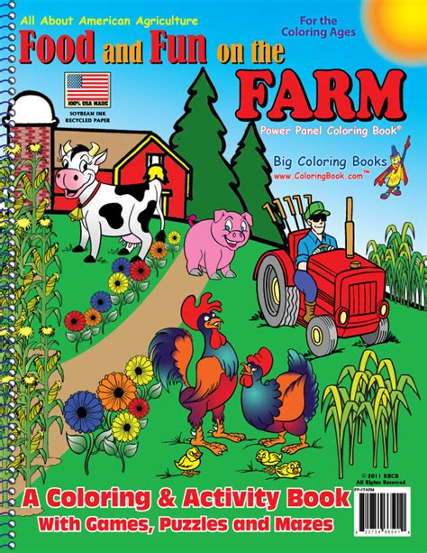 farm picture books coloring books food and on the farm organic coloring