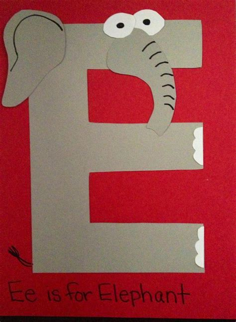 letters for craft projects 25 best ideas about letter e craft on e craft