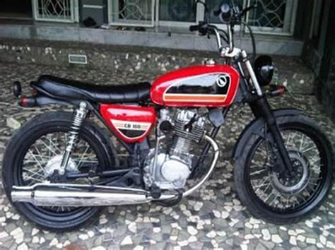 Foto Modification Cb by Modification Honda Cb 100 2013 The New Autocar