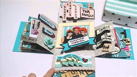 how to make card in a box diy crafts birthday box card